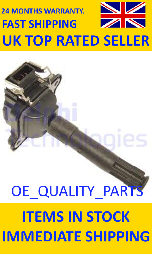 Engine Ignition Coil Pack CE2001912B1 DELP for Audi A3 A4 A6 A8 Allroad TT Merce